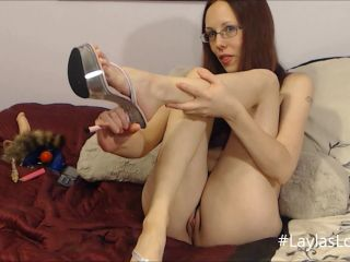 LaylasLooking - Watch me fuck my High Heel
