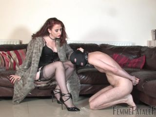 [Femdom 2018] Femme Fatale Films  Cigar Ash & Spit  Complete Film. Starring Mistress Lady Renee [SLAVE HUMILIATION, FEMALE SUPREMACY, FEMALE SUPERIORITY]