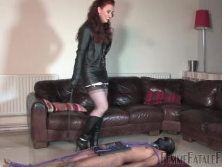 Ball Stomping – FemmeFataleFilms – The Squash Board – Complete Film – Mistress Lady Renee