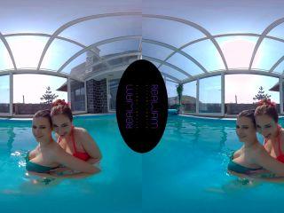 Threesome Pool – Billie Star, Antonia Sainz 4K
