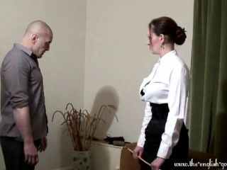 The English Governess – A caning from the governes