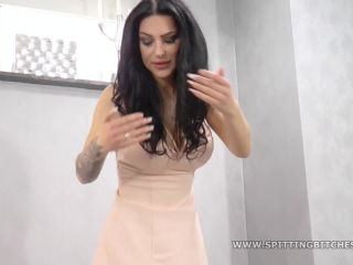 Female Domination – SpittingBitches – Spitted on and laughed down – Miss Liana
