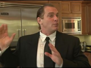 Porn Red head in latex fucked hard and gets face full of cum