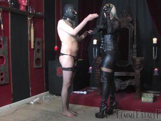 Porn online FemmeFataleFilms – Johanna's Bitch Slave – Complete Film  Starring Mistress Johanna femdom