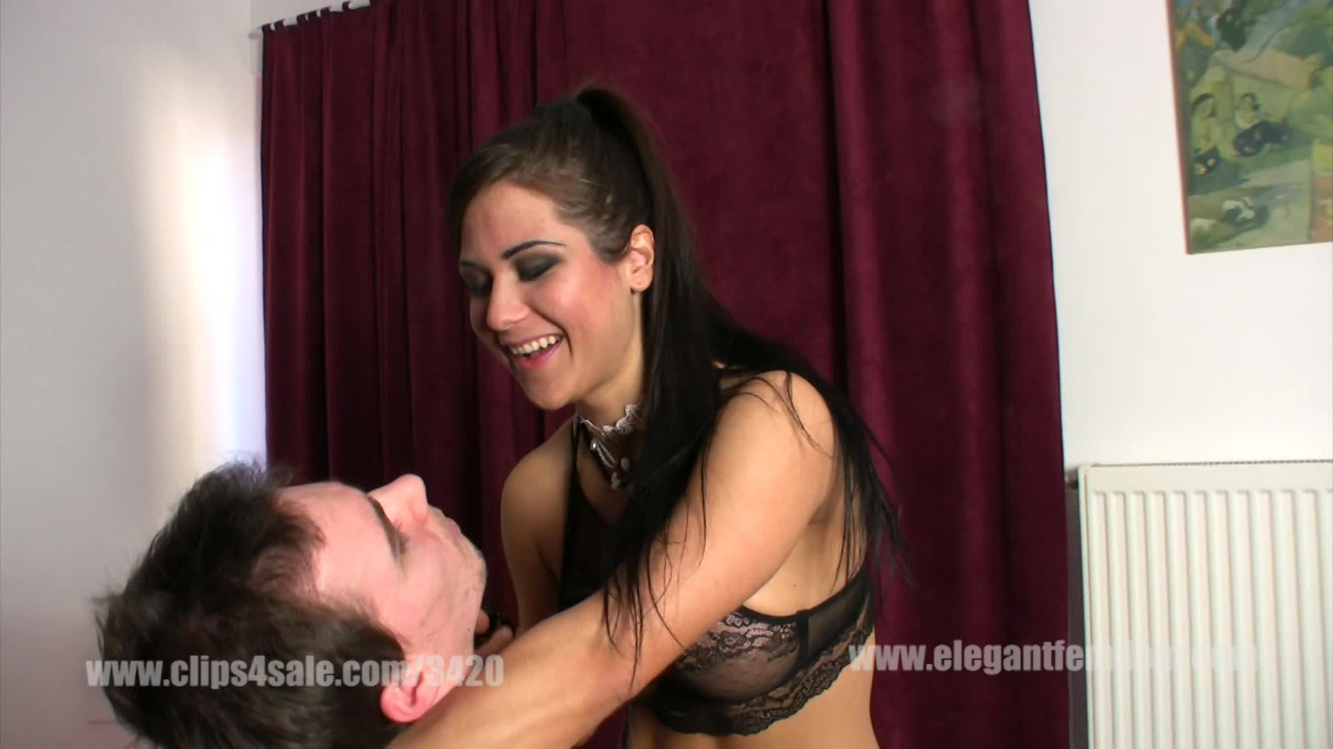 Femdom tease and denial Real life