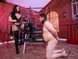 Big Black Cock – ClubDom – Sheena Straps Her Slave