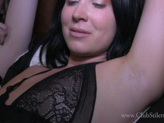 Club Stiletto Femdom - It'S Hot And Our Pits Stink, Lick Them Clean [FullHD 1080P] - Screenshot 2