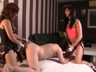 Ass Fucking – Goddess Ella Kross – Mammoth Strap-On in Slave's Ass featuring Tessa