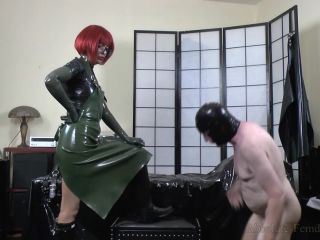 Absolute Femdom – Strict Milking On My Rubber Boots