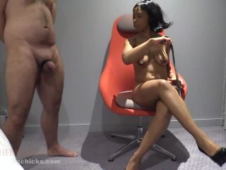 Femdom – Ball Busting Chicks – Horny Lola Marie masturbates at CBT – Lola Marie