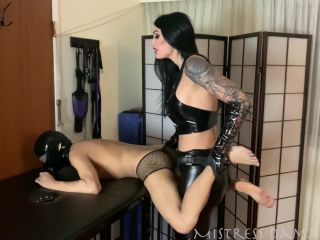 Mistress Damazonia - Fucking a Fun Sized Bitch | dildo | femdom porn