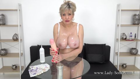Lady Sonia - Wank Your Cock With Me [FullHD 1080P]