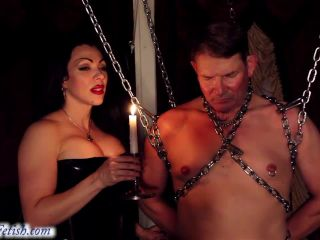 Electric Play – Goddess Cheyenne – Obedient slave Training
