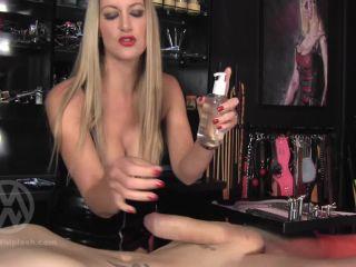 Extreme Urethral fingering and sounding Orgasm – Mistress Nikki Whiplash
