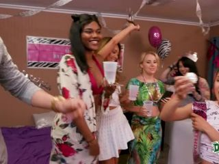 Natasha Blue, Liv Revamped, Ayumi Anime in Dorm Birthday Surprise Party