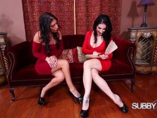 SubbyHubby – Raven and Alyssa's New Hire Part 1 – Foot Worship – Footworship, Female Domination - sub - feet nikki next femdom