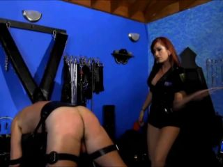 Deanna Storm - Police Woman brutality caning - caning on femdom porn