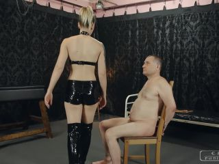 Cruel Mistresses – Severe Femdom – Mistress Anette – Tied and face slapped