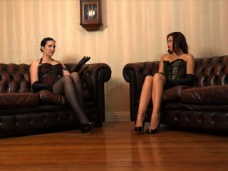 Skirt – SADO LADIES Femdom Clips – 2 Slaves Dominated And Humiliated – Lady Sofia And Mistress Nemesis