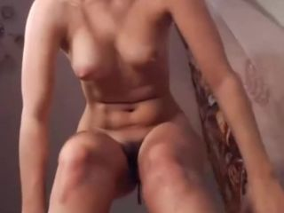 The girl toying orgasm