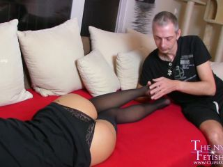 The Nylon Leg Fetish Store – Loreen footjob surprise HD-MP4