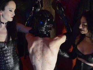 Bullwhipping – Cybill Troy FemDom Anti-Sex League – Flesh Tribute – Whipping (Cybill Troy & Fetish Liza)