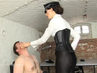 Face Slapping – SADO LADIES Femdom Clips – The Defiled Boots – Full Version Starring Lady Mephista