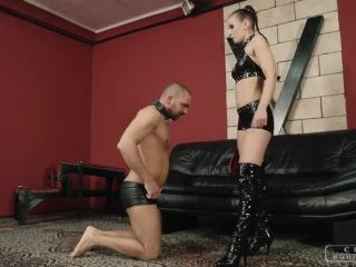 Porn online Domination – CRUEL PUNISHMENTS – SEVERE FEMDOM – Boot licking and spanking – Mistress Anette