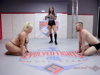 EvolvedFights – Alura Jenson vs Chad Diamond – Mixed Wrestling