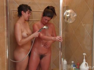Alicia Silver And Bianca Stone In Hot And Hairy Lesbian Strap-On Fucki ...