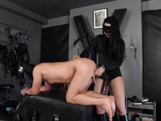 [Femdom 2018] Kinky Mistresses  The brown XXL Strap-on. Starring Mistress Gaia [Gaia, Pegging, Strap-On, Strap on]