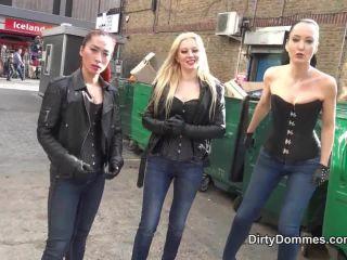 QUEENS OF KINK  Brutal Bitches Beatdown. Starring Goddess Maya Liyer, Fetish Liza and Lilse Von Hitte