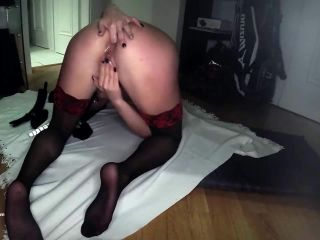 Blue Candy - First self anal fisting