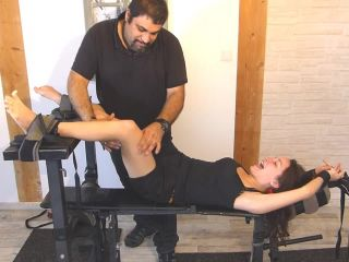 FrenchTickling - 19 Years Old Maxine Can't Stand One More Second Of Tickling