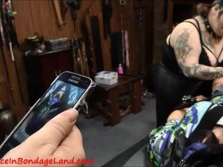 Aliceinbondageland – Sissy Obedience Training Vibrating Butt Plug – Femdom Bondage Threesome