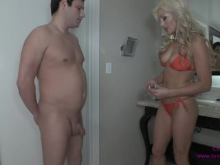 Chastity – Cuckoldress Cameron and Friends – CD – Locks Him Up Wearing a Bikini