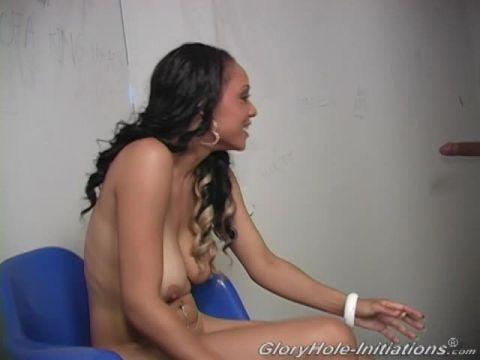 Black Girl Shyla Haze Is Having Her Mouth On The Bone Hard Stiff Member