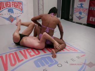 EvolvedFights – Kelli Provocatuer vs Tony Orlando – Mixed Wrestling – Anus, Femdom Sex - anal fucking - fetish porn tongue fetish porn