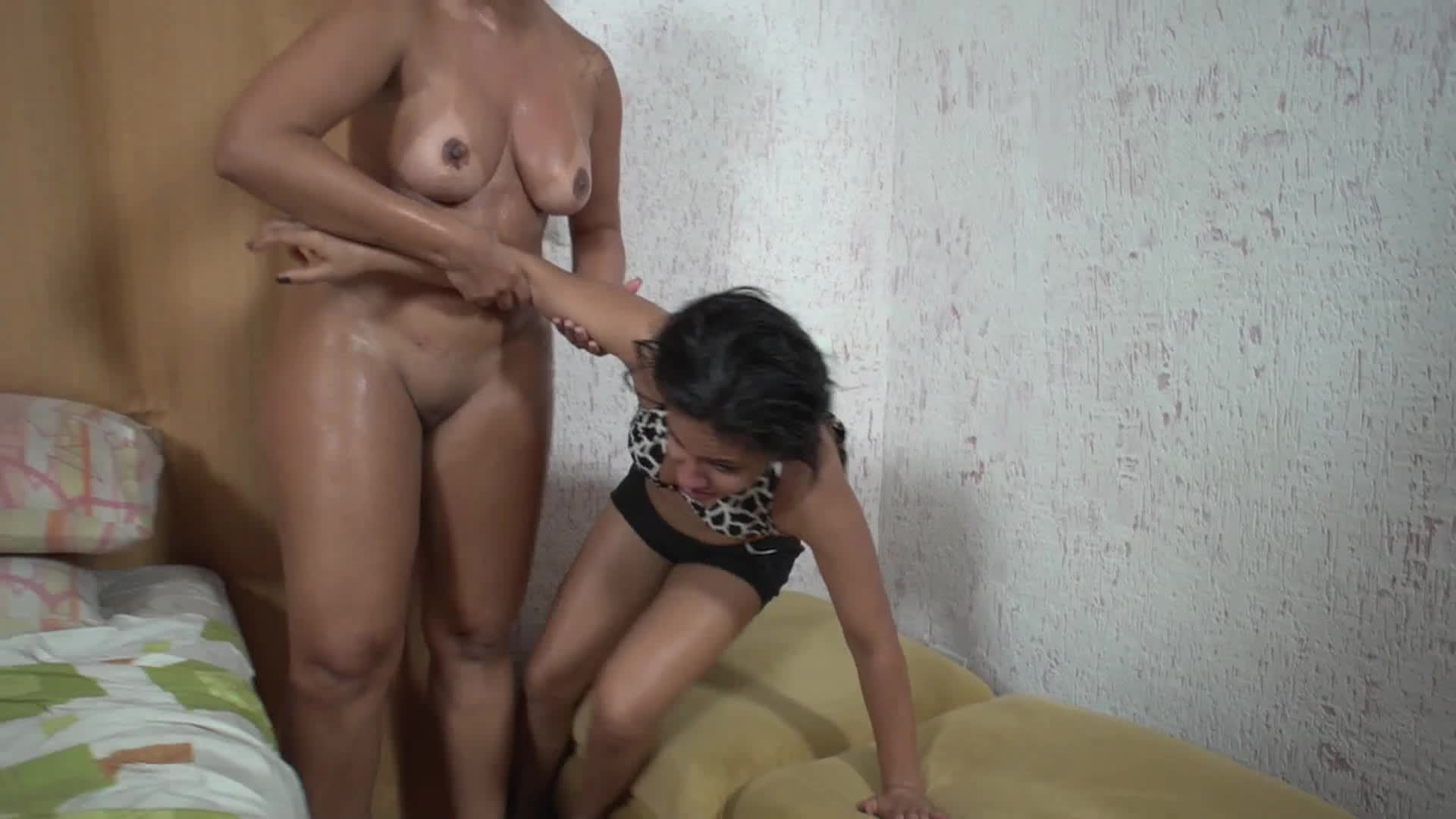 Blonde First Time Lesbian