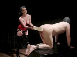 A Divine New Years: Cherry Torn celebrates with slave&039;s screams