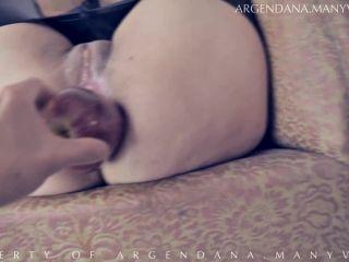 Amazing mature Double fisting, Anal prolapse (Gape Rosebud And XXL Apple)