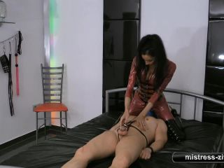 Orgasm Contol – Mistress Zita – 400 Euro for Release Part 2