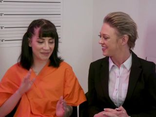 EverythingButt presents Butthole Prison: Dee Williams Locks Up Charlotte Sartre for Anal Fraud – 20.04.2018