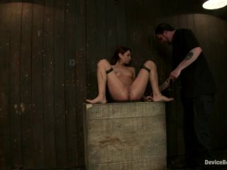 Kink.com- Flexible whore is spread wide with evil foot torture_sadistic impact_and brutal nipple torment-- Amber Rayne