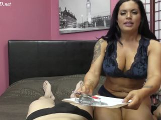 Femdom Executrix - Titty technique - follow the tits into the afterlif ...