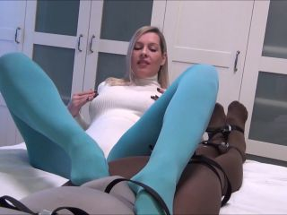 Kinky Pantyhose Encasement With Ruined Orgasm