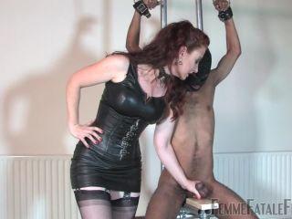 Femme Fatale Films  Ball Squishing  Complete Film. Starring Mistress Renee