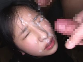 Hot japanese bukkake scene -