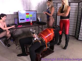 Electric Shocks – Brat Princess 2 – BP – Teasers Try Out New Software at the Edging Salon Complete Part 1