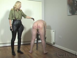 Whip – FemmeFataleFilms – Military Discipline. Part 1 – Mistress Akella